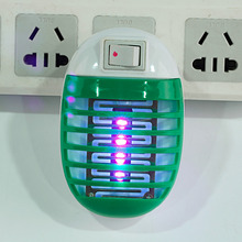 OUTAD 220V Socket Electric Mini Mosquito Lamp LED Anti Mosquito Repeller killing Fly Bug Insect Trap Night Lamp Killer Zapper(China)