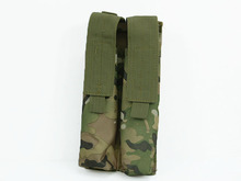 Hot Sale Combat P90 Airsoft Molle Double Tactical Military UMP Magazine Pouch Outdoor Tactical Bag