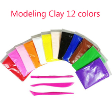Light Soft magnetic Polymer Clay Modeling Magic Plastilina Air Dry slime Plasticine Play Set slime Foam Clay 12 Colors Playdough