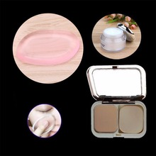 FSHALL 4.5cm x 6.5cm Professional Silicone Gel Cosmetic Powder Puff Foundation Cream BB Cream Sponge Pink Color(China)
