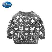 Baby Children Cotton Sweaters 2017 Cotton Kids Pullover Knitted Clothes For Boy Girl Cartoon Sweater Autumn Spring 2017 New(China)