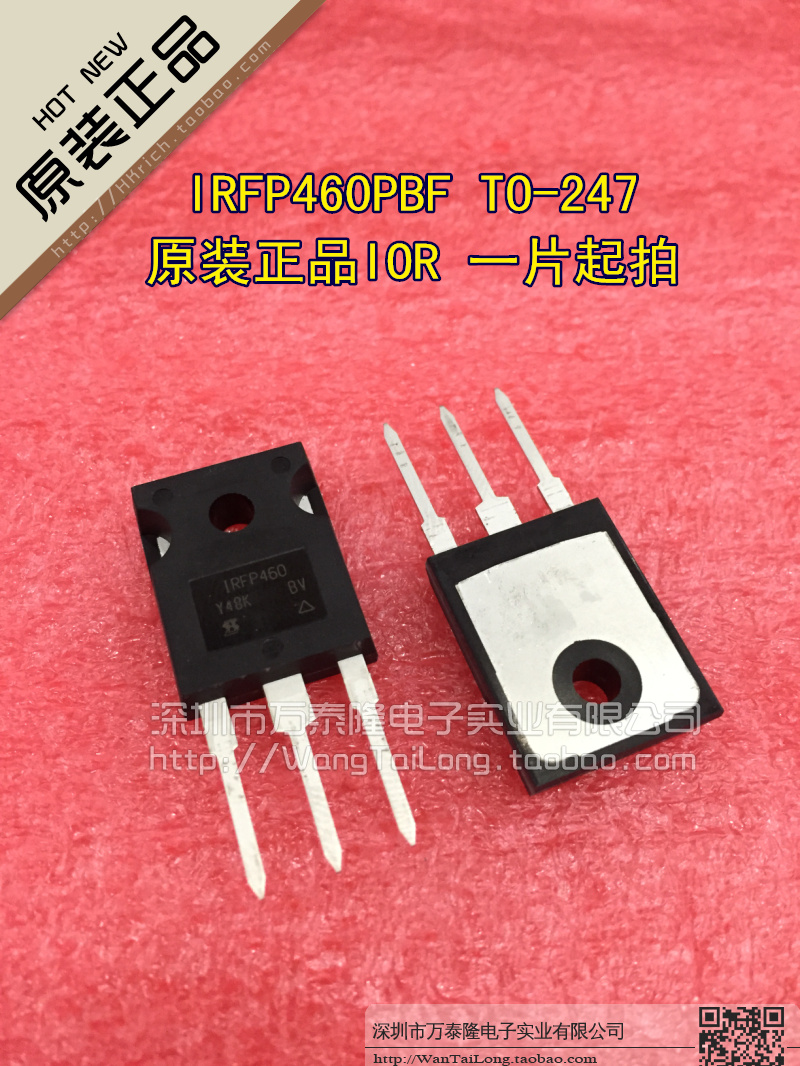 50PCS Milli IRFP460PBF IRFP460 TO-247 500V field effect tube new original 20A<br><br>Aliexpress