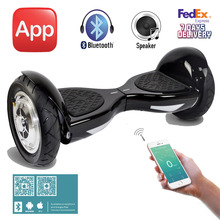 App 10 inch Hoverboard with Bluetooth Two Wheels Electric Skateboard 700W SUV Overboard Smart Balance Scooter Electric Patinete
