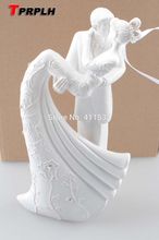 Bride And Groom Resin White Wedding Cake Topper Cake Stand Wedding Cake Accessories Wedding Decoration C22102