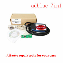 Lowest Price+High Quality Adblue Emulator 7In1 Professioanl Truck Ad blue Remove Tool Adblue 7 In 1 Support EURO 4/5 Free Ship