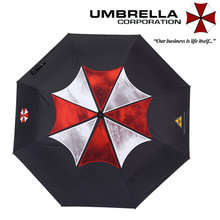 Biohazard Resident Evil Umbrella Corporation Automatic Reverse Inverted Umbrella Rain Men Paraguas Hombre Novelty Items