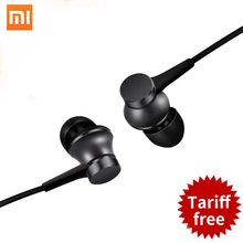 100% Original Xiaomi Piston Basic Stereo Earphone In-Ear 3.5mm with Mic Headset for Xiaomi 5 5s Mp4 Mp3 PC for iphone 6 6s plus(China)