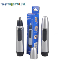 Nose Ear Face Hair Trimmer Electric Shaver Clipper Battery Powered Operated Cleaner from both Men and Women