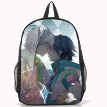 2018 Fashion Dramatical Murder Backpack Anime Seragaki Aoba Cosplay PU School Bag(China)