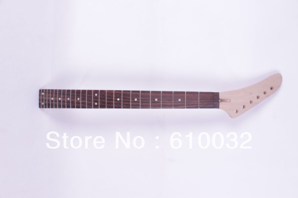 left One electric guitar neck maple   wood  and  Rosewood 24 frets  227#<br>