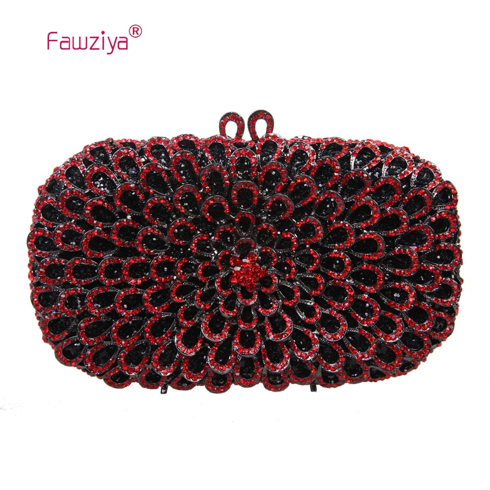 Fawziya Female Bags Floral Purse Bling Party Handbags For Women Evening Bags<br><br>Aliexpress