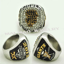 2017 Fashion Silver Ring 2012 San Francisco Giants World Series Championship Ring for fans