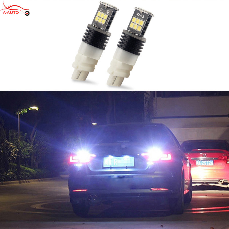 2 x 3157 3156 White 15 LED 3535 SMD P27W T25 Turn Signal Back Up Reverse Light Bulbs For VW Audi Chevrolet Ford Buick Cadillac<br><br>Aliexpress