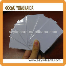 Yongkaida white Compatible M1 S50 13.56MHz ISO 14443A nfc rfid proximity card(China)