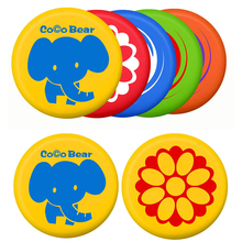 High Quality Soft PU Frisbee Parent-child Interactive Outdoor Flying Disk Game Tool For Kids Above 3Y (Random Color)