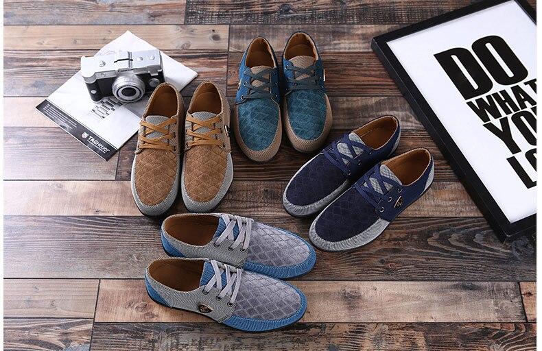 18 Fashion Canvas Shoes Men Casual Shoes Summer Breathable Yellow Comfortbale Espadrilles Sneakers Men Flats Shoes Big Size 7