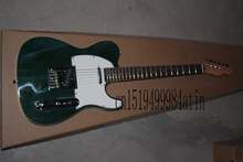 Free Shipping wholesale high quality New TELE Variegated dark green Guitars Telecaster Electric Guitar in stock   @15