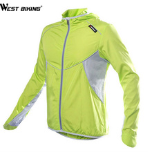WEST BIKING Quick-dry Cycling Jersey Ropa Ciclismo Wind Windproof Windcoat Bicycle Clothing MTB Bike Cycle Fast-drying Coat