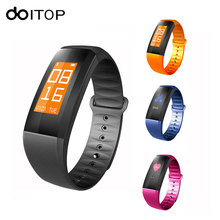 DOITOP Smart Band M99 OLED Heart Rate Blood Pressure Monitor Pedometer Smart Wristband Bracelet Fitness Tracker Smartband