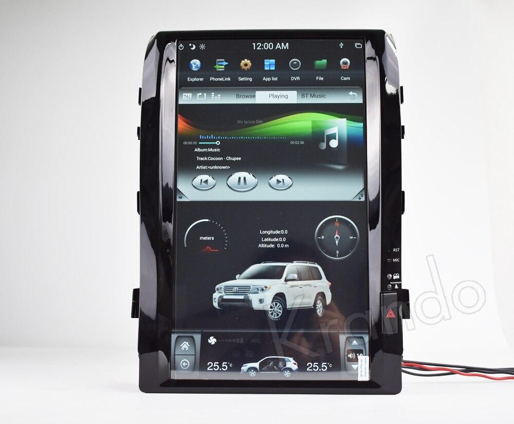 Krando android car radio stereo navigation gps for toyota land cruiser 200 2008-2015 car dvd player multimedia system (5)