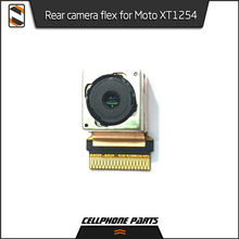5pcs/lot Rear Back Camera Lens Flex Cable For Motorola Moto XT1254 Main Big Camera With Ribbon Module High Quality(China)
