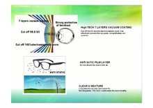 Free shiping manufacture anti radiation glasses for computer mobile phone and TV ,2pcs/ lot