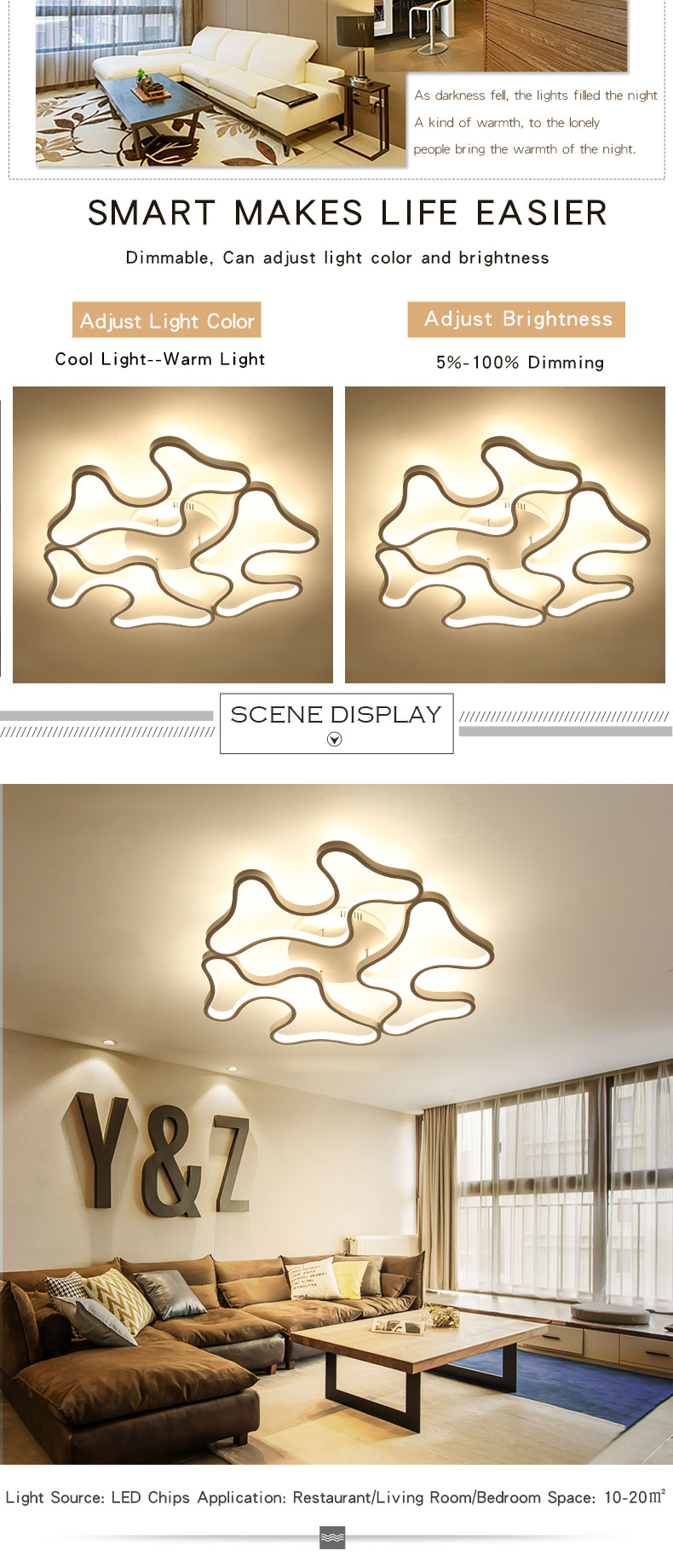Led Ceiling Lights Modern Lamp