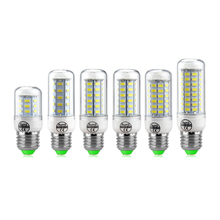 10Pcs E27 7W 12W 15W 20W 25W LED lamp 220V 5730SMD LED Corn Bulb Candle Spot light Chandelier 24LED 36LEDs 48LEDs 56LEDs 69LEDs