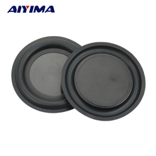 Aiyima 2pcs 2.6inch 67mm strengthen Passive bass Speaker membrane vibration plate vibrating diaphragm(China)