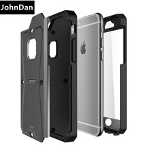 For Apple iPhone 6 6s Plus 7 Plus SE 5S 5 S E PC+ Silicone + Screen Protector Heavy Duty Military Army Tank Armor Case Cover