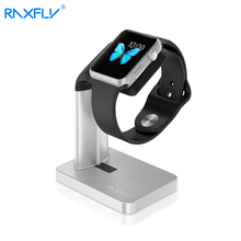 RAXFLY For iWatch Charging Holder 38mm 40mm High Quality Aluminum Charging Stand Holder Dock Holder Charger For Apple iWatch(China)