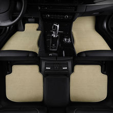 Car floor mats for Porsche Cayenne 911 Cayman Macan Panamera GTS suv plush car carpets(China)