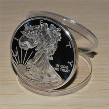 Uncirculated 2014 Philadelphia Mint American Eagle Silver Dollar Coin Free Shipping