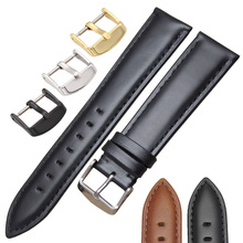18mm 19mm 20mm 21mm 22mm 24mm Watchbands Men Watch Band High Quality Genuine Leather Women Watch Strap Bracelets Accessories(China)
