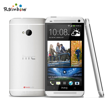 Original HTC The One M7 Factory Unlocked Cell Phone With GPS WIFI 4.7'' TouchScreen 4MP Camera 32GB ROM Andriod OS(China)