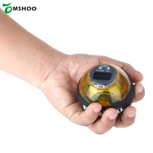 5 Colors Gyroscope PowerBall Gyro Power Ball Wrist Arm Exercise Strengthener LED Force Ball with Speed Meter Counter 12000 RPMS