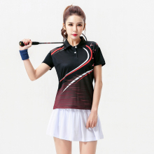 2017 Badminton clothes set Female , Women's Tennis clothes sets  ,Table Tennis wear , Tennis sets  Black set 5059B