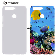 3D Sublimation Case For Huawei Honor V9 Honor8 Pro Cover DIY Printed Heat Transfer Sublimation Coque For honor 8Pro V9 5.7 inch(China)
