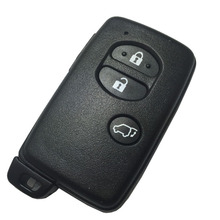 New 3 Button Remote Smart Key Case Shell Fob For Toyota 4 Runner Land Cruiser Prius V Crown RAV4 Fob