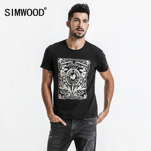 Buy SIMWOOD 2018 Summer New Print T-Shirt Men Slim Fit Fashion 100% Cotton Vintage T Shirts High Brand Clothing TD017103 for $13.48 in AliExpress store
