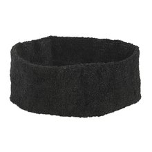 Basketball Volleyball Stretchy 5cm Wide Sweatband Head Band Black(China)