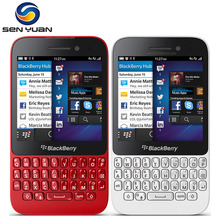Original Unlocked Blackberry Q5 MobilePhone 5.0MP Dual core 2GB RAM 8GB ROM 3G WIFI GPS q5 cell phone(China)