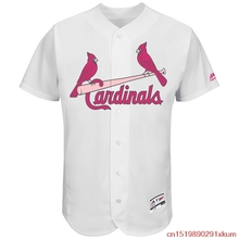 MLB Men's St. Louis Cardinals Baseball White Mother's Day Flex Base Team Jersey(China)