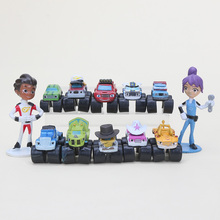 12Pcs/set 3-7cm Blaze and The Machines Blaze storm Machines Blaze Miracle cars action figure toys for children as small gift(China)