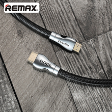 REMAX RC-038H HDMI Adapter Cable Male to Male1080p 4K*2K Plated Port Nylon For Projector/ Xbox/DVD/LCD/Computer/ HDTV/ STB/ PSP(China)