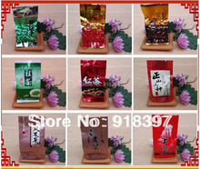 10 Different Flavors FamousTea, including Black/Green/White/Yellow/JasmineTea,Free Ship  160g