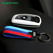 Buy Nylon Leather belt Key Ring Keyring Keychain Germany Flag Key Chain BMW M Tech M Sport 1 3 5 E36 E37 E46 E39 E53 E60 E90 X5 for $2.19 in AliExpress store