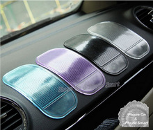 5pc Car Magic Grip Sticky Pad Anti Slide Dash Cell Phone Holder Non Slip Mat Clear