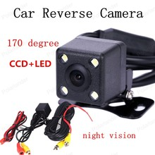 best selling CCD+4LED night vision Car Rear View Camera With 170 degree view angle Waterproof Backup camera