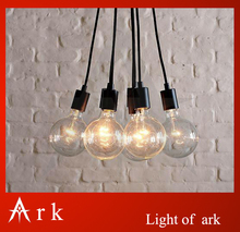 ark light Contemporary Edison Chandelier Light Pendant Lamp Ceiling Hanging - 7 Bulbs Fixture free shipping coffee house(China)